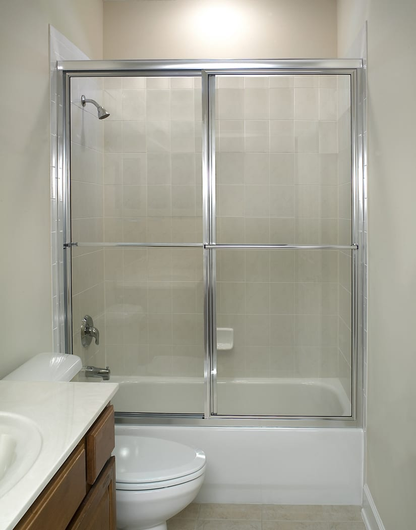 Shower enclosures gunns quality glass mirror framed bypass on tub planetlyrics Image collections