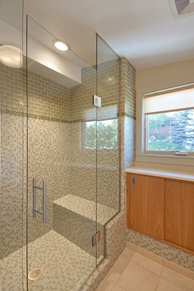 frameless shower enclosure with channel - Glass Enclosures