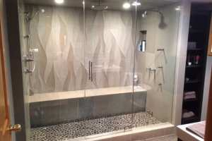 Frameless Steam Shower Enclosure